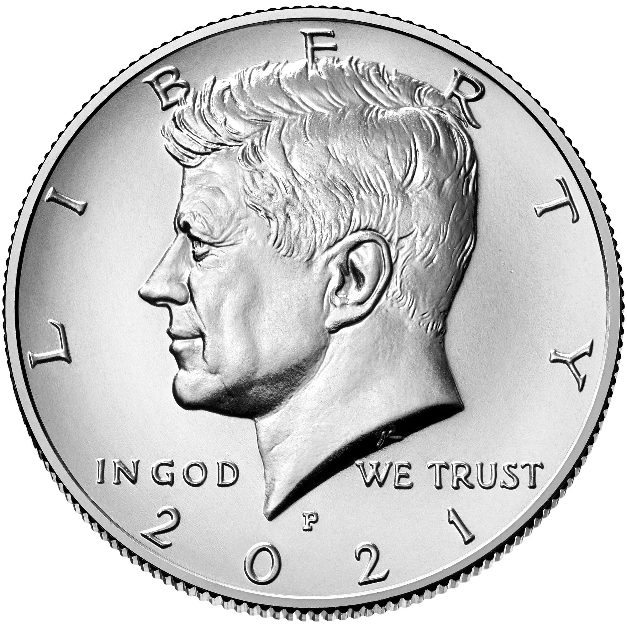 US 1/2 Dollar - Half Dollar 2021 P