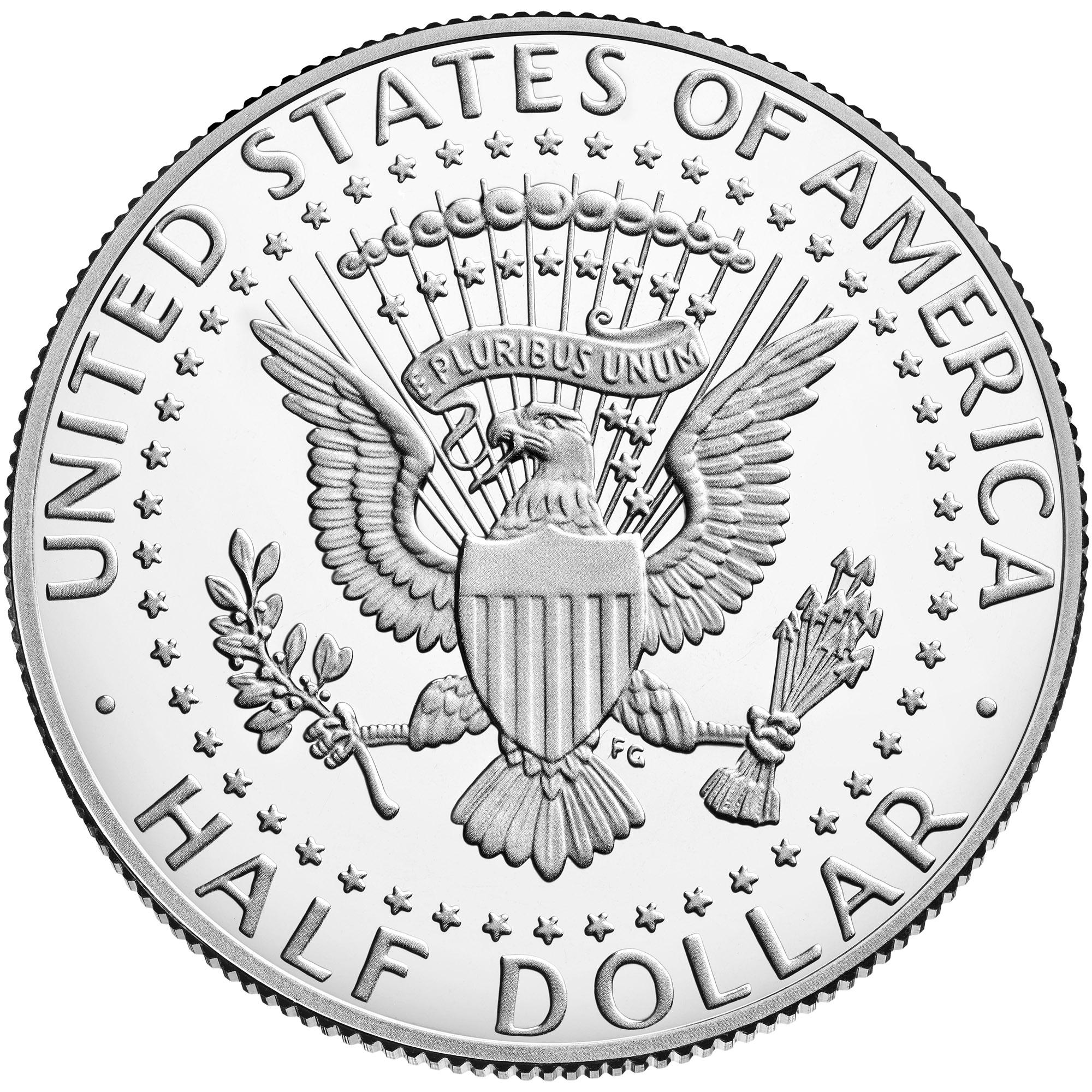US 1/2 Dollar - Half Dollar 1972 S