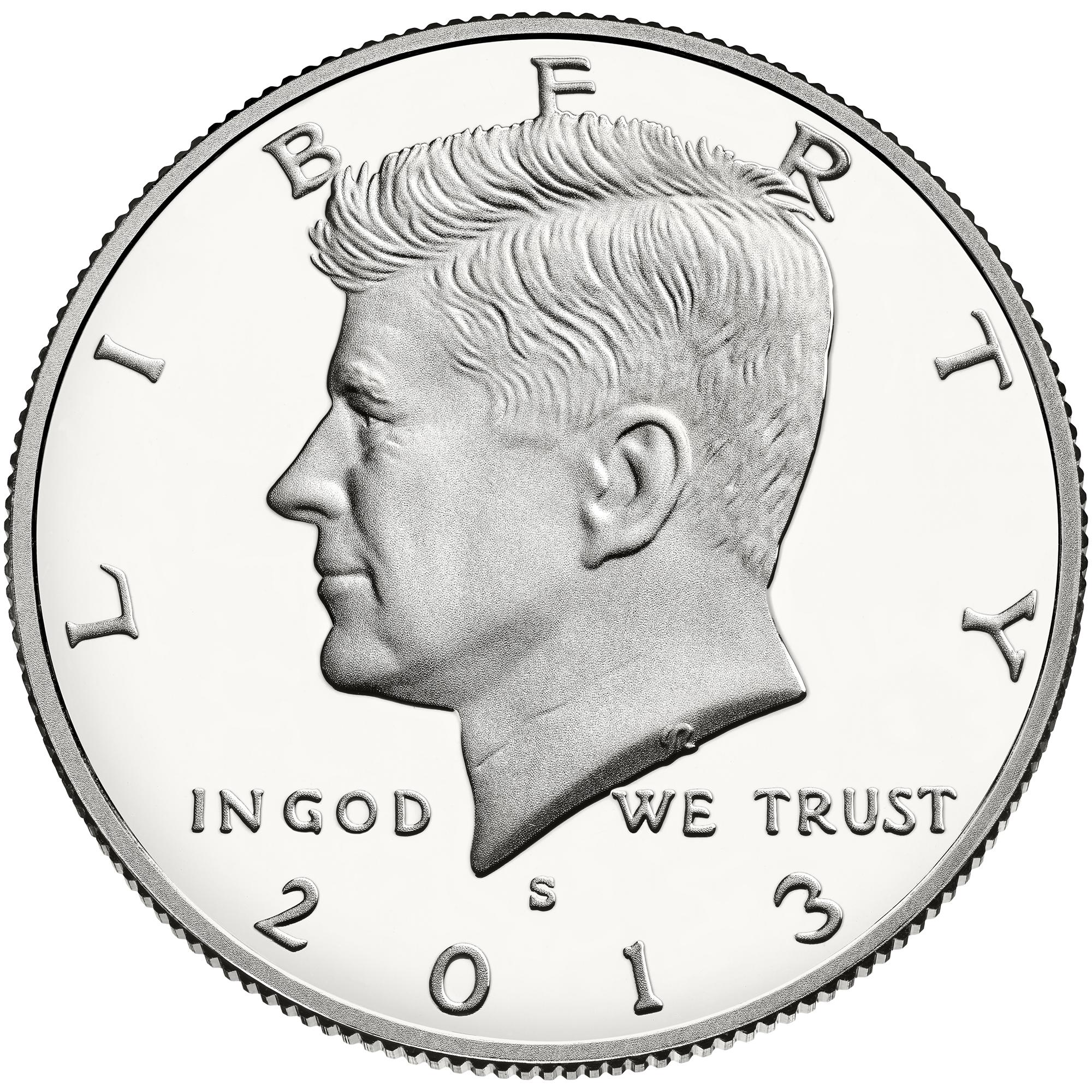 US 1/2 Dollar - Half Dollar 1971 S