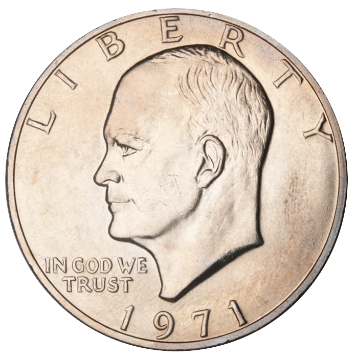 US 1 Dollar 1973 no mintmark