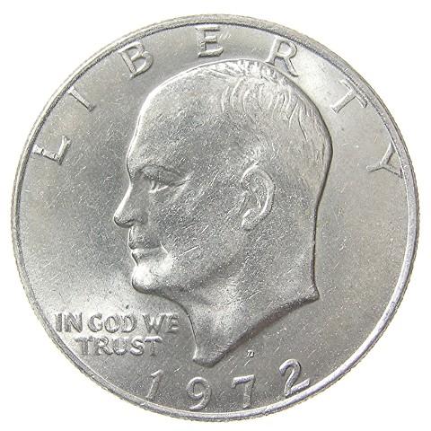 US 1 Dollar 1973 D