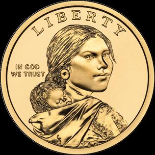 US 1 Dollar 2016 D