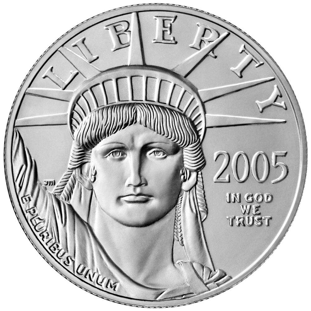 US 10 Dollars 1997 no mintmark