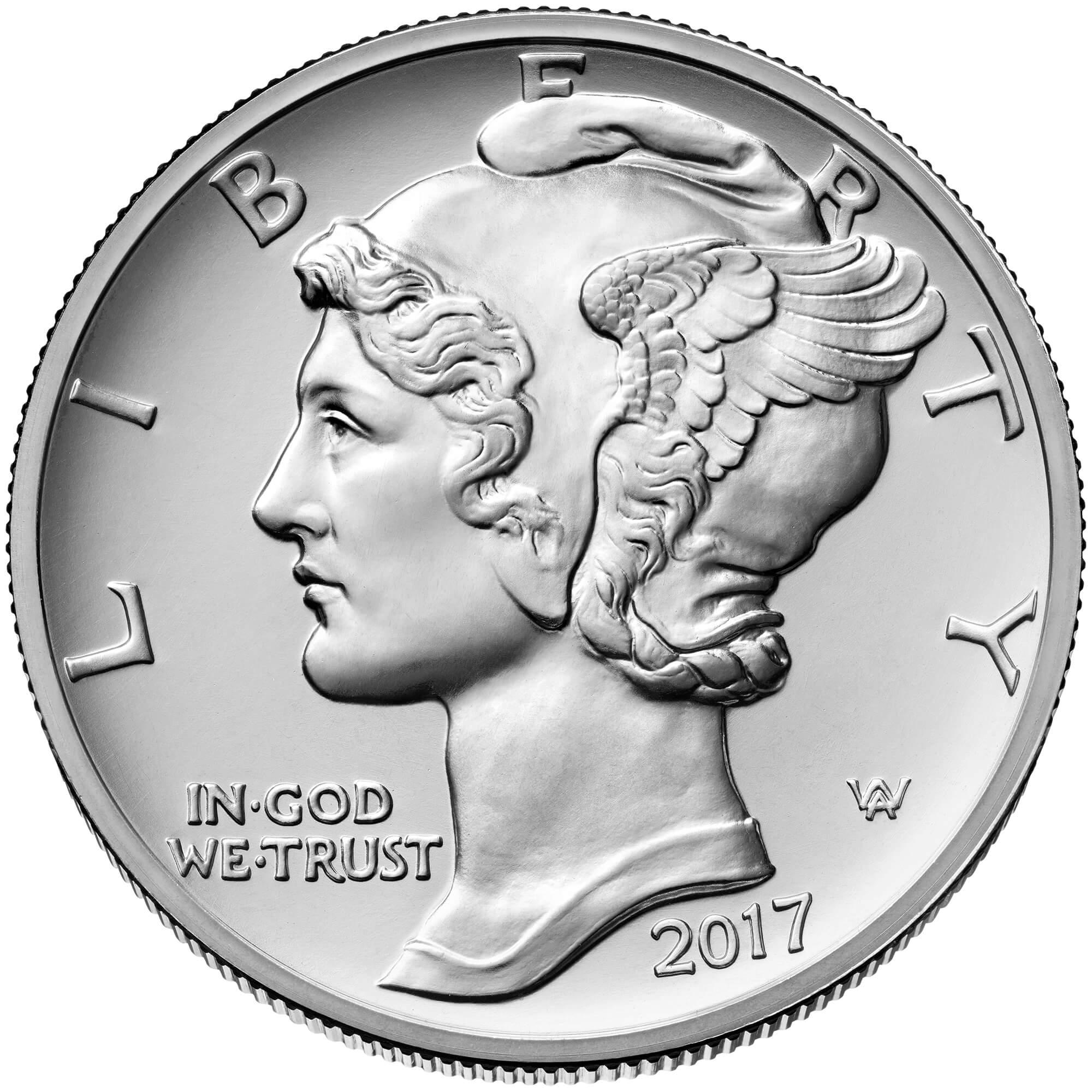 US 25 Dollars 2017 no mintmark