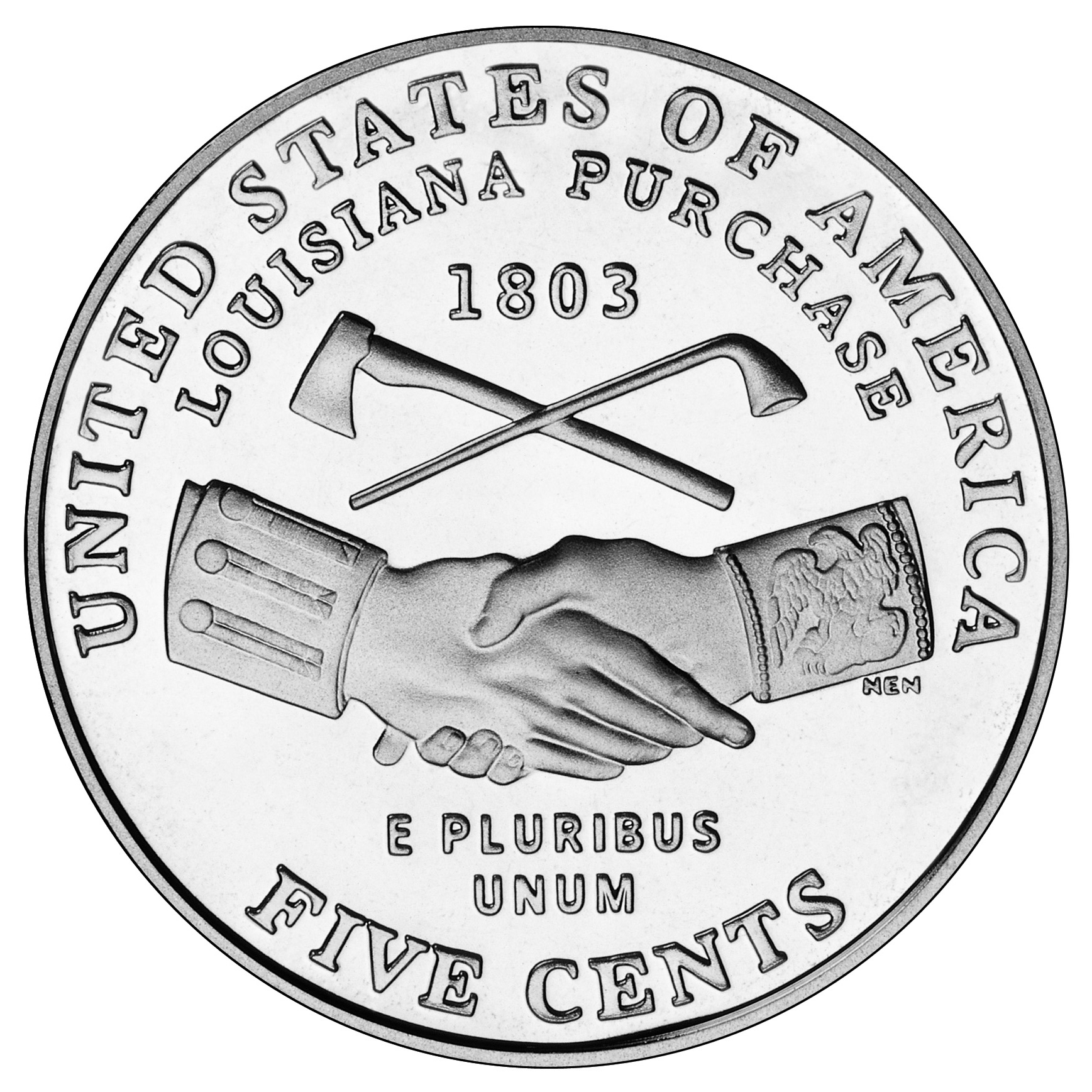 US 5 Cent - Nickel 2004 P