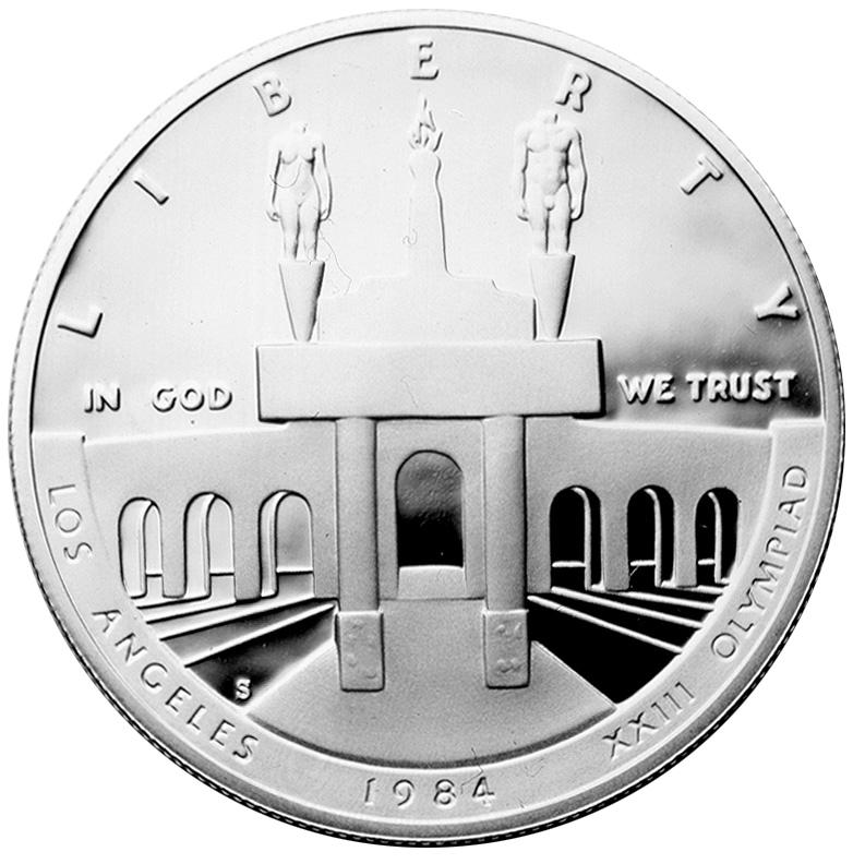 US 1 Dollar 1984 D