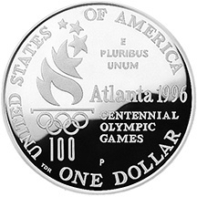 US 1 Dollar 1996 D