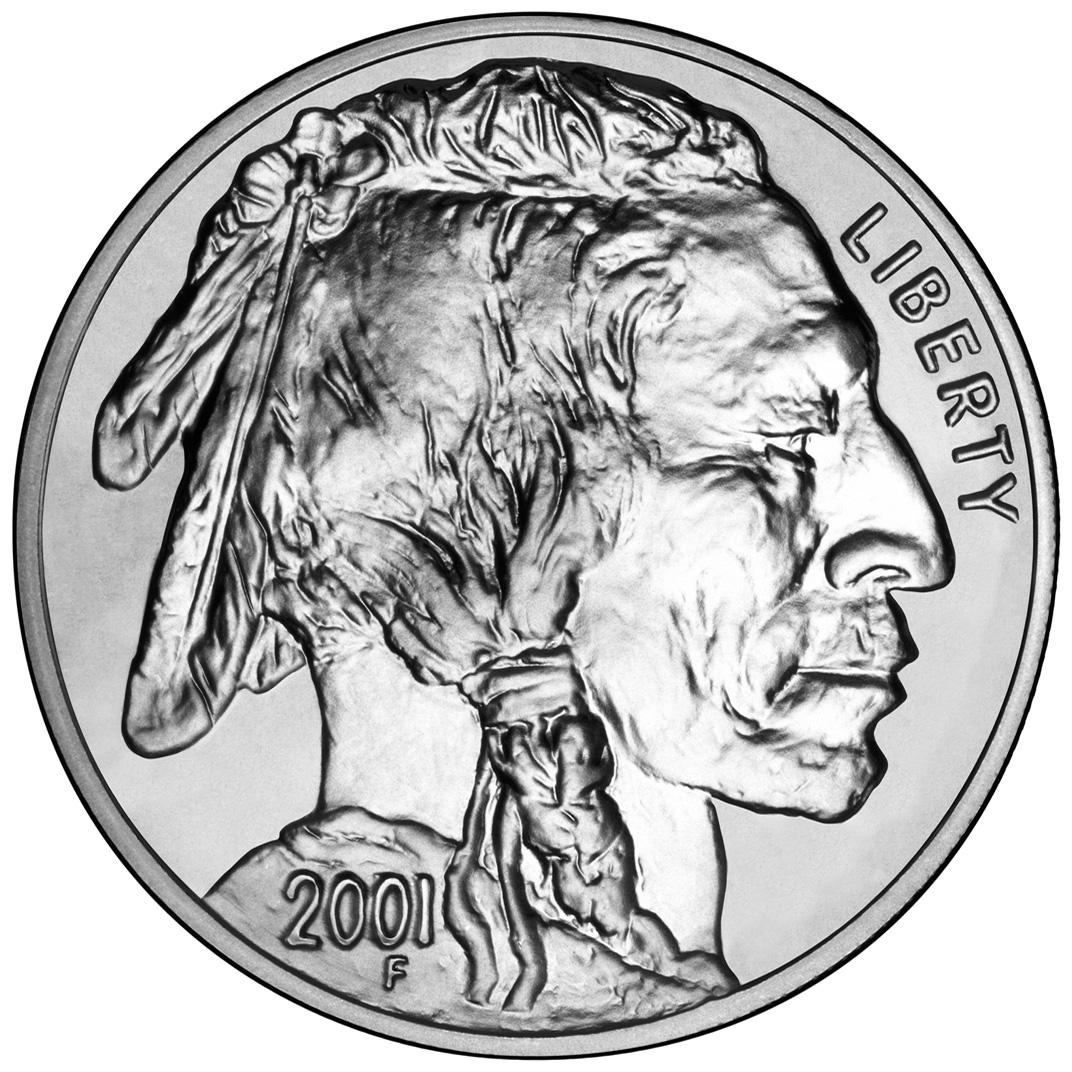 US 1 Dollar 2001 D