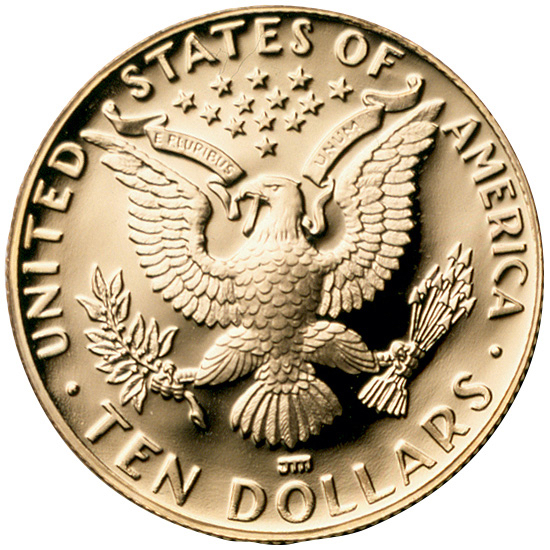 US 10 Dollars 1984 D