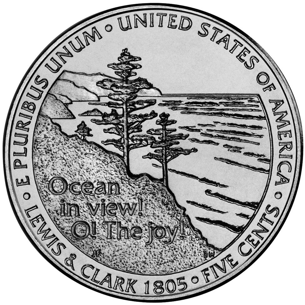 US 5 Cent - Nickel 2005 P