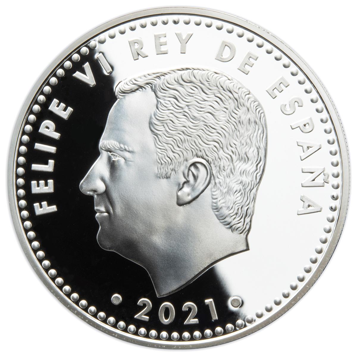 ES 10 Euro 2021 Real Casa de la Moneda logo
