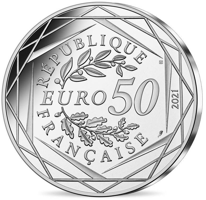 FR 50 Euro 2021 Horn of Plenty