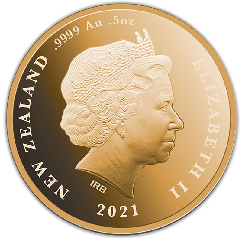 NZ 10 Dollars 2021
