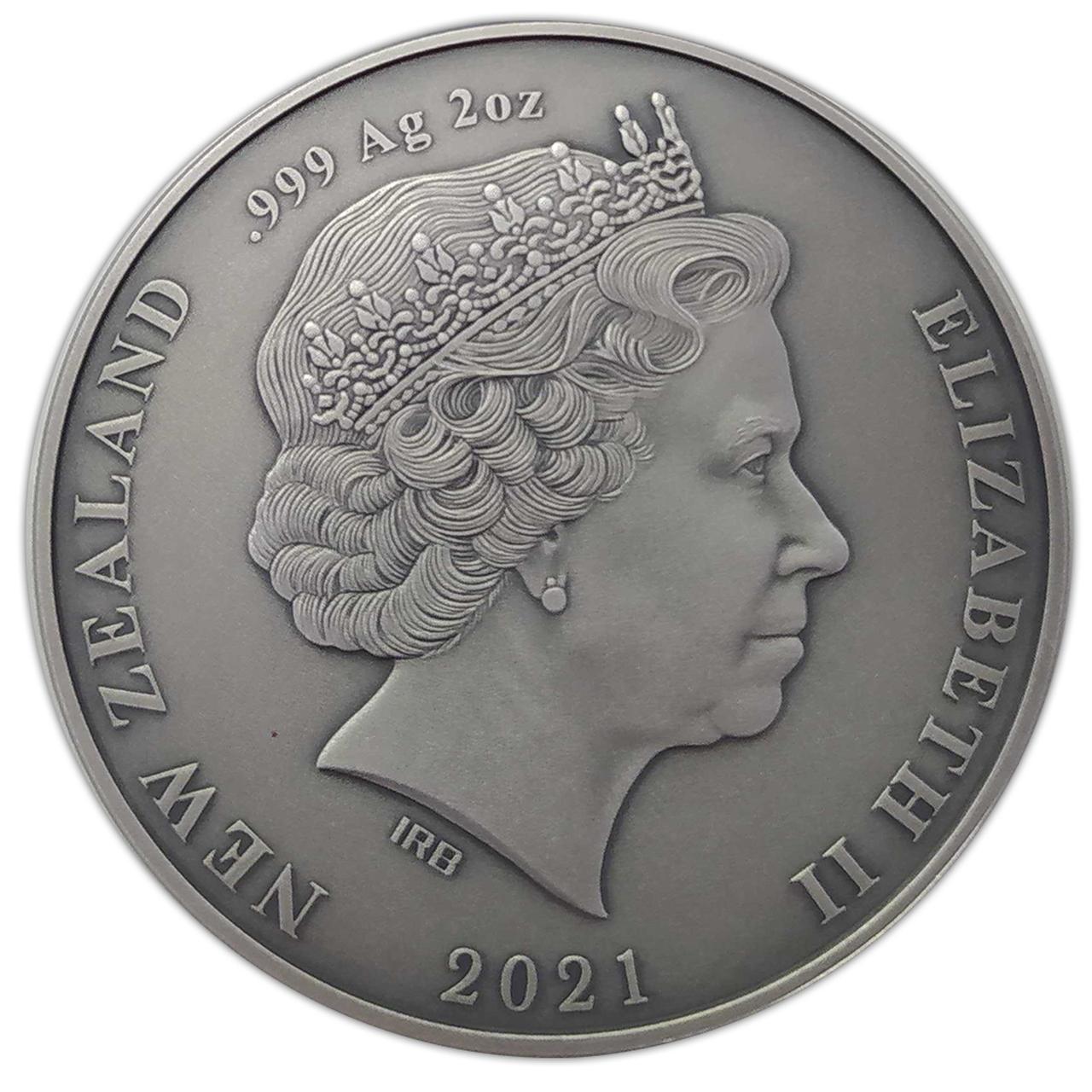 NZ 2 Dollars 2021