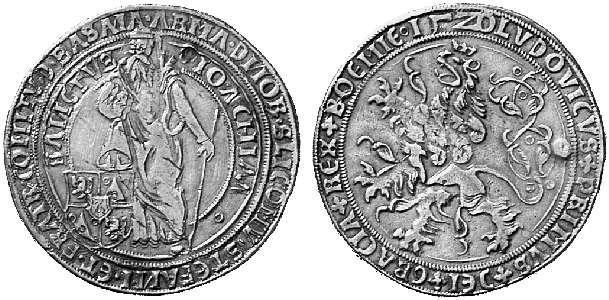 HRR 1 Taler 1520