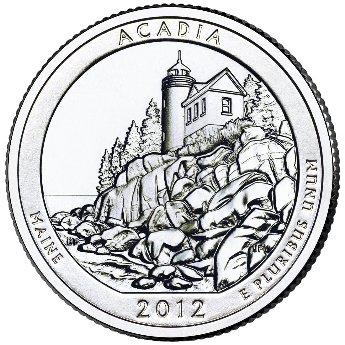 US 1/4 Dollar - Quarter 2012 P