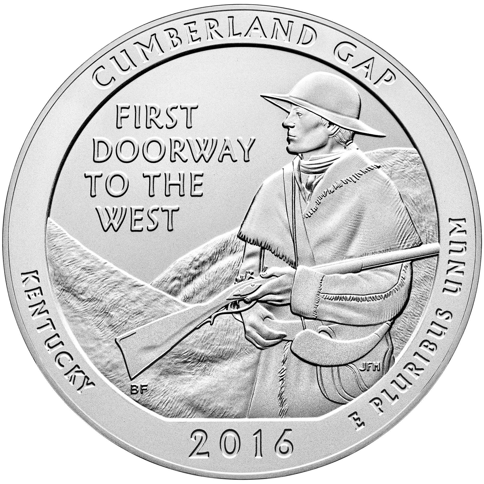 US 1/4 Dollar - Quarter 2016 no mintmark