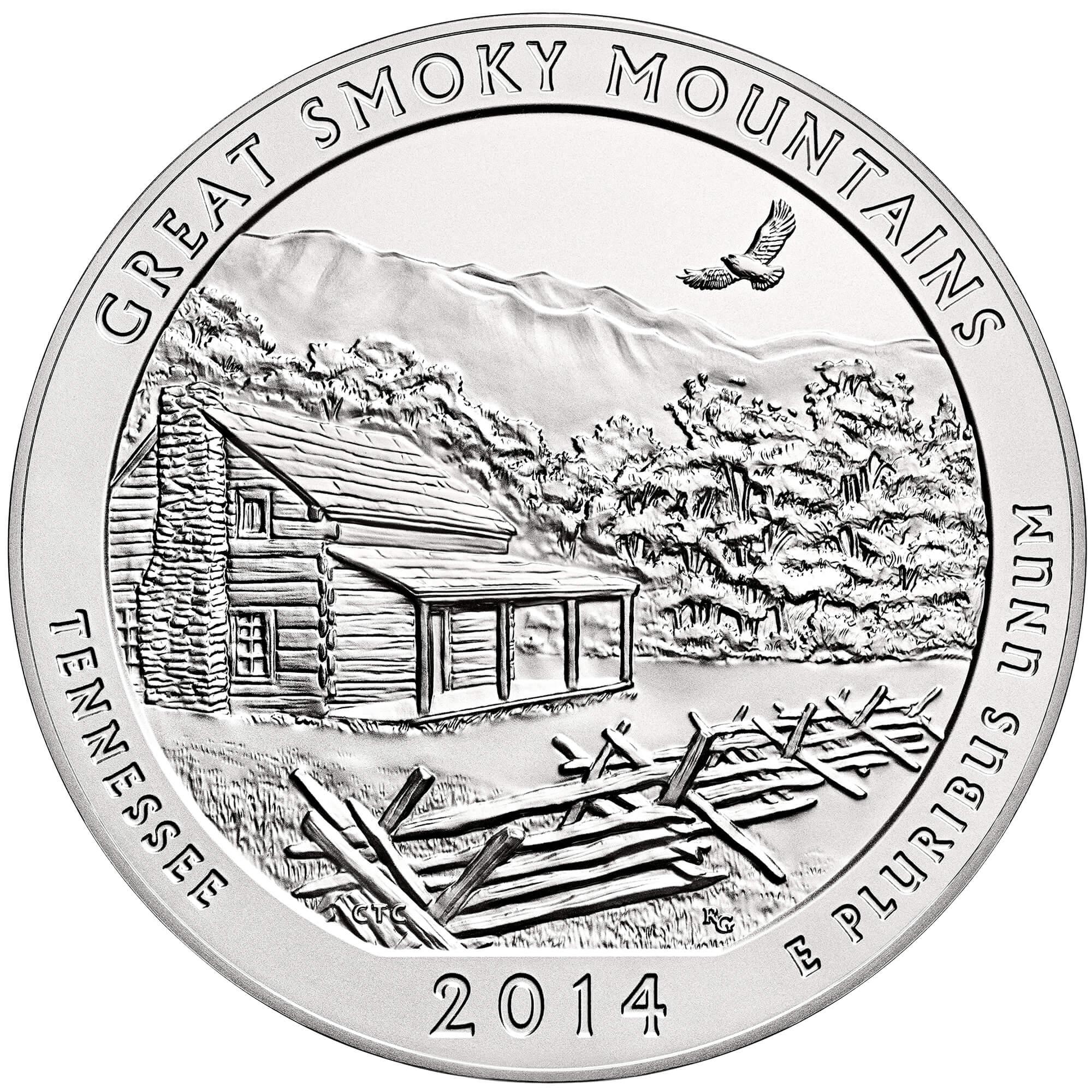 US 1/4 Dollar - Quarter 2014 no mintmark