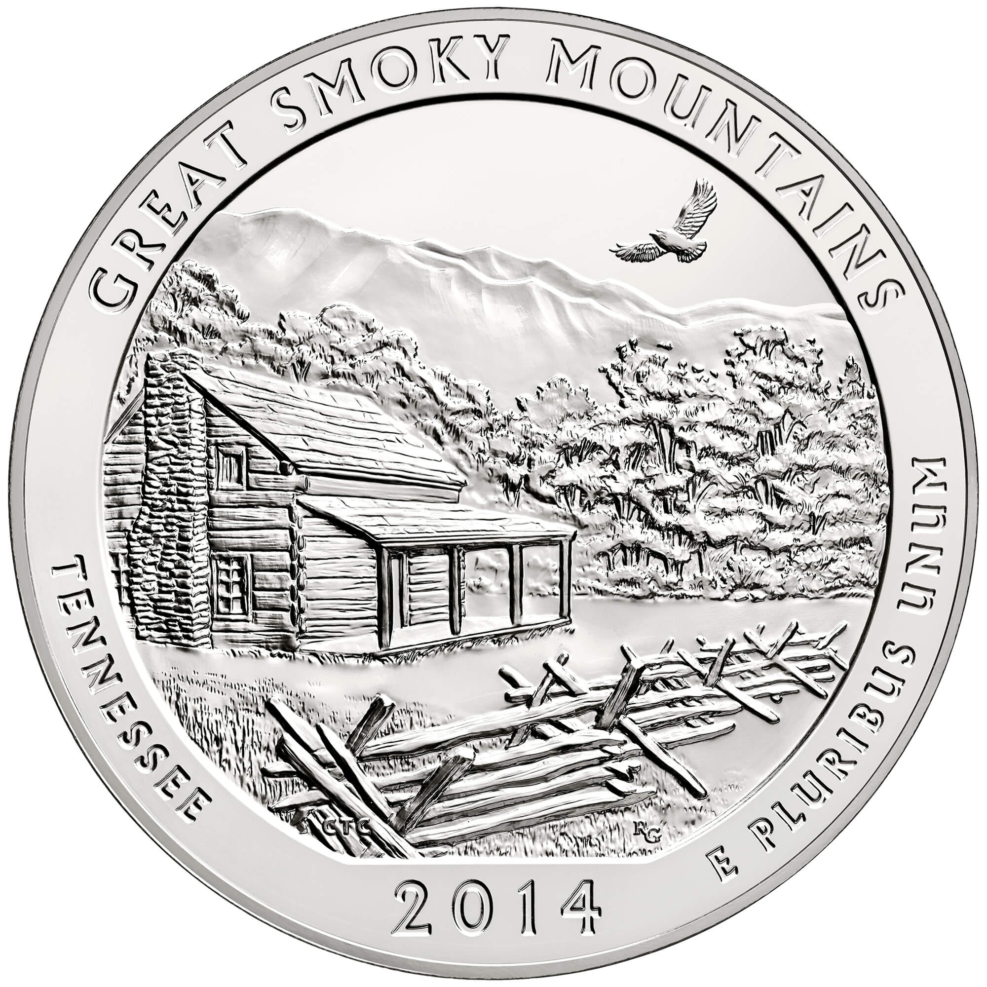 US 1/4 Dollar - Quarter 2014 P