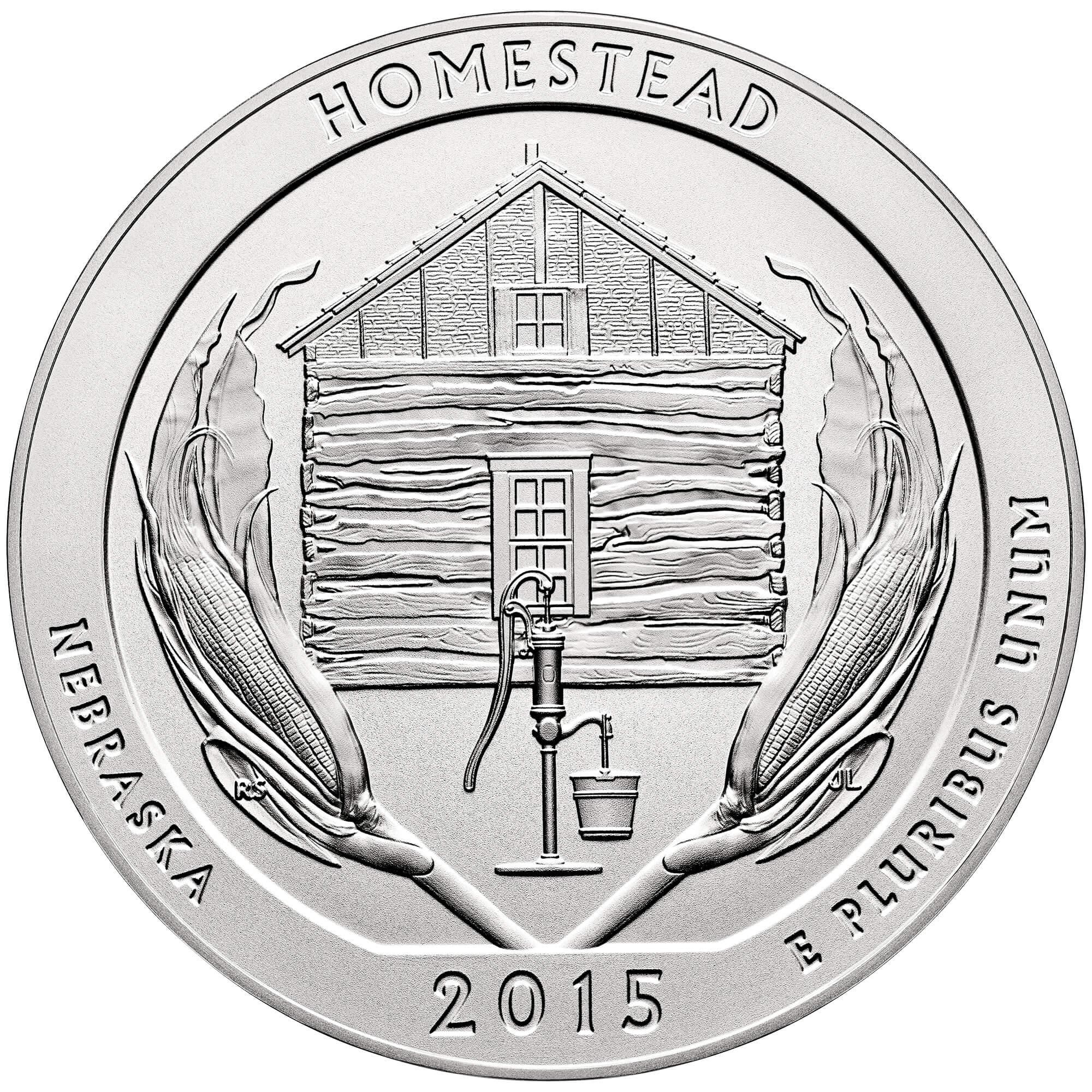 US 1/4 Dollar - Quarter 2015 no mintmark