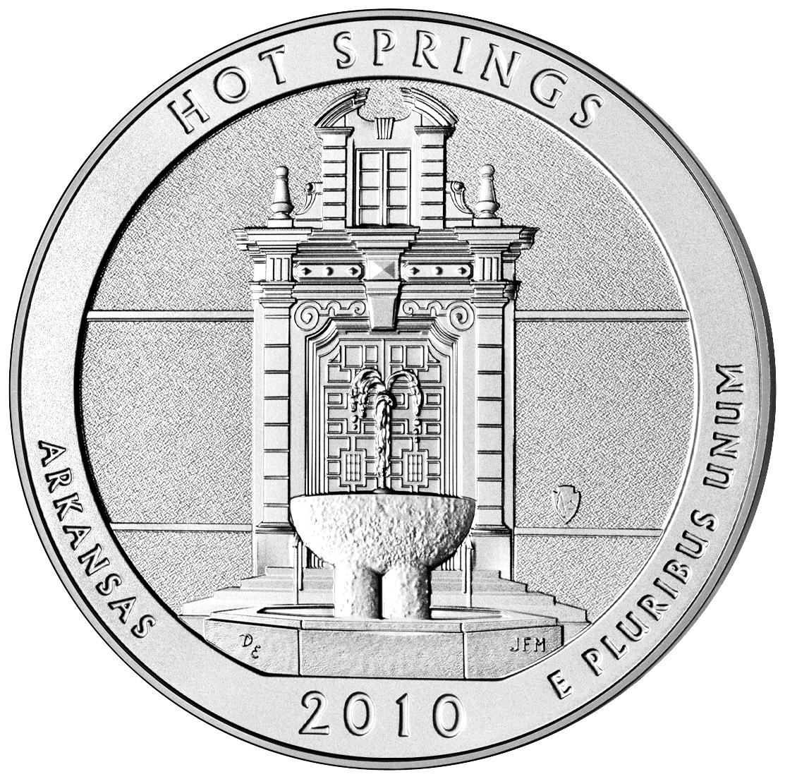 US 1/4 Dollar - Quarter 2010 no mintmark