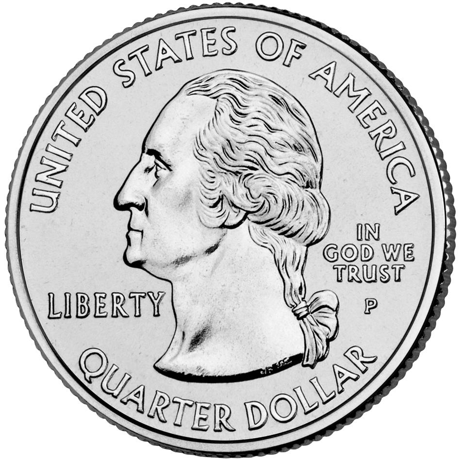 US 1/4 Dollar - Quarter 2002 P