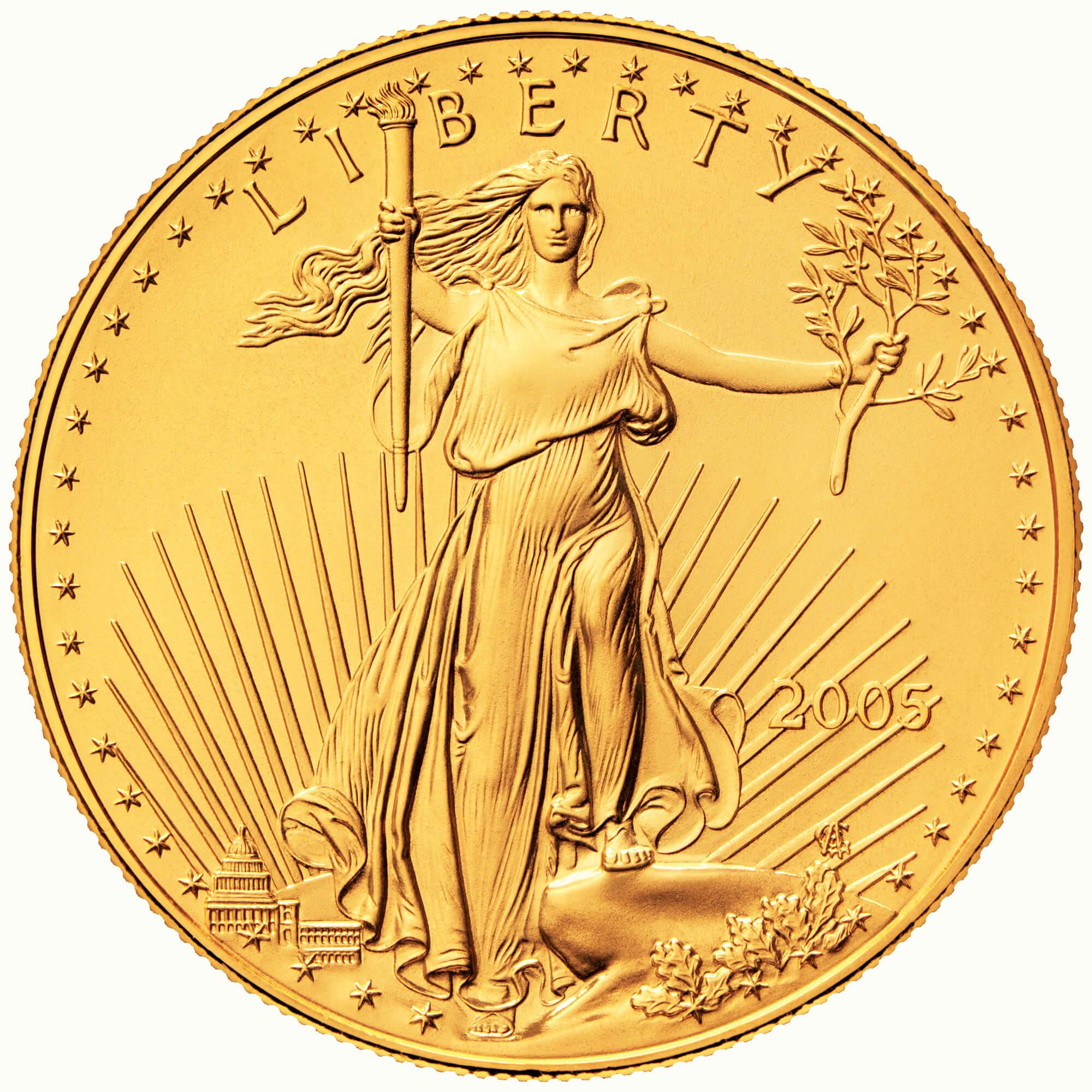 US 5 Dollars 2008 no mintmark