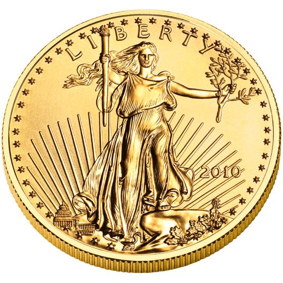 US 10 Dollars 2010 no mintmark
