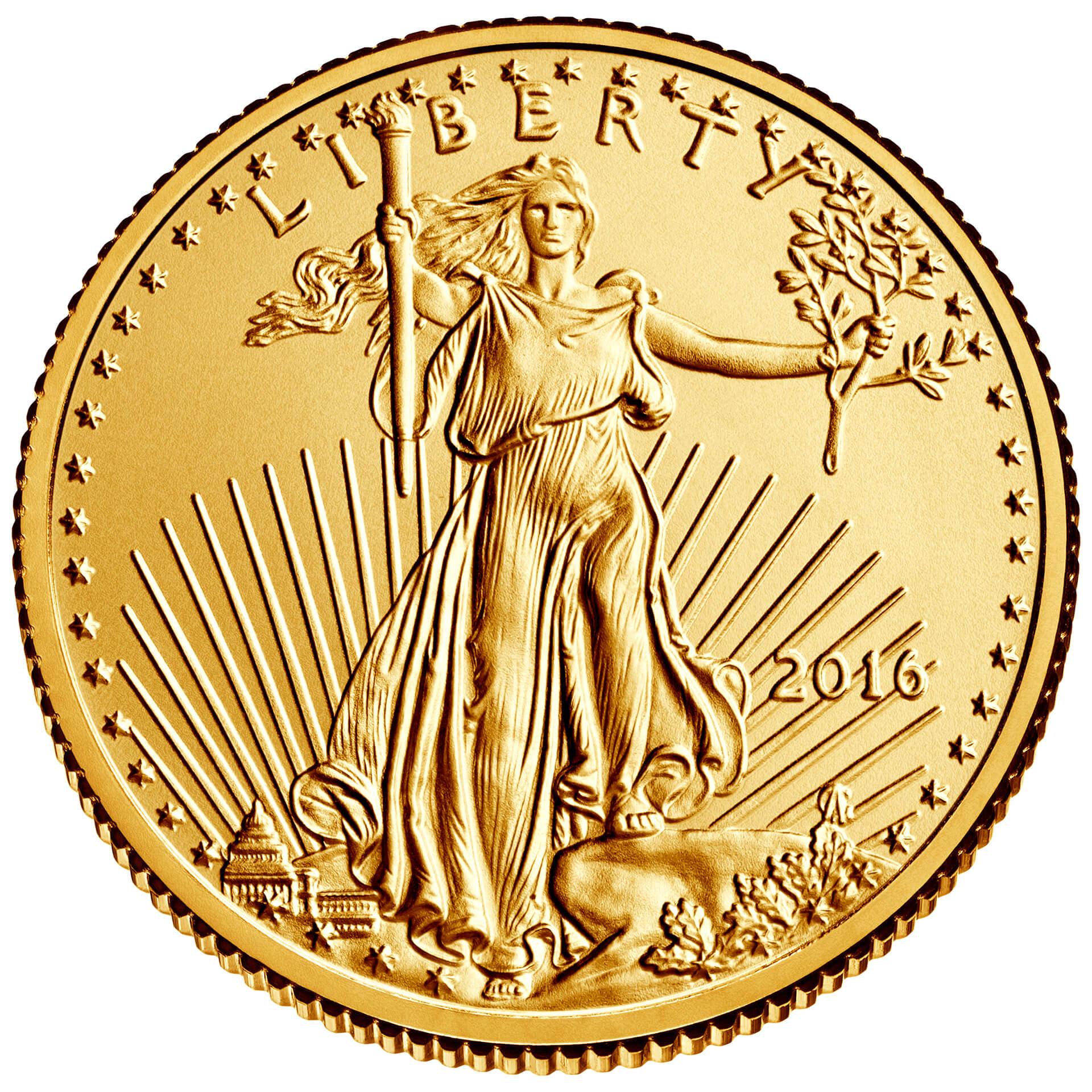 US 10 Dollars 2016 no mintmark