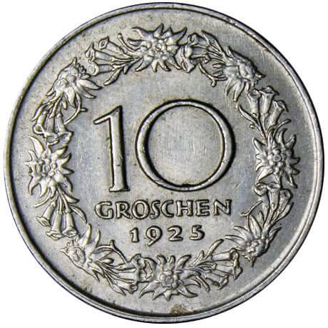 AT 10 Groschen 1928