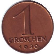 AT 1 Groschen 1935