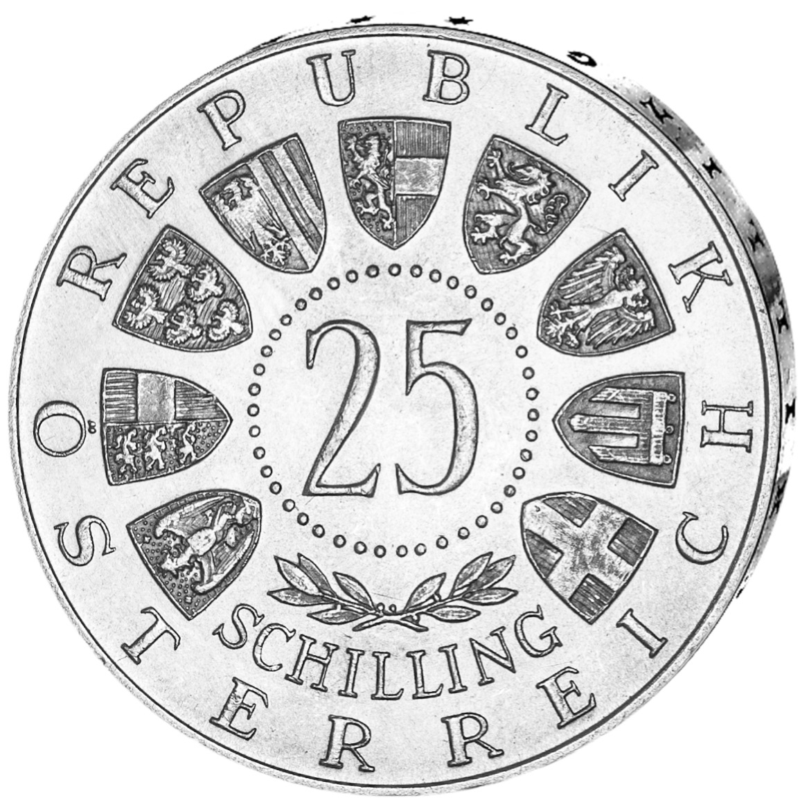 AT 25 Schilling 1956