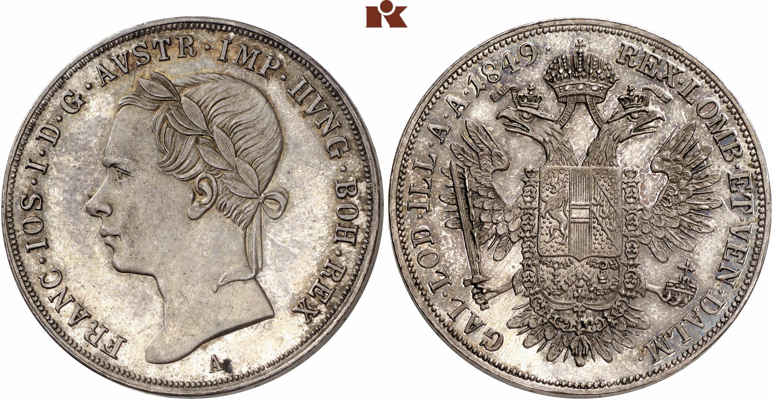 AT 1/2 Taler - Halbtaler 1850 A