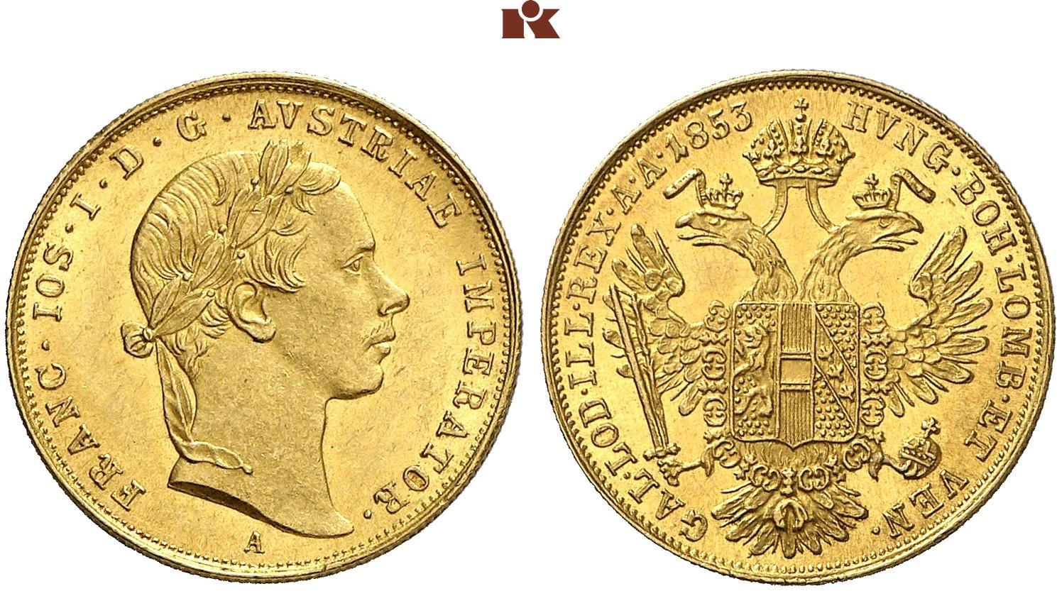 AT 1 Dukat 1853 B