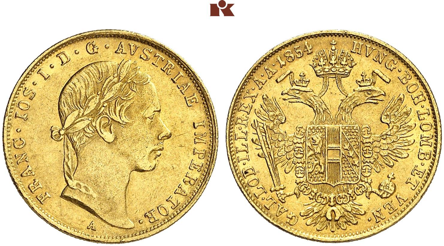 AT 1 Dukat 1854 B