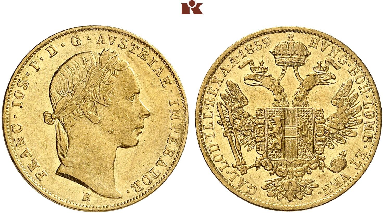 AT 1 Dukat 1859 B