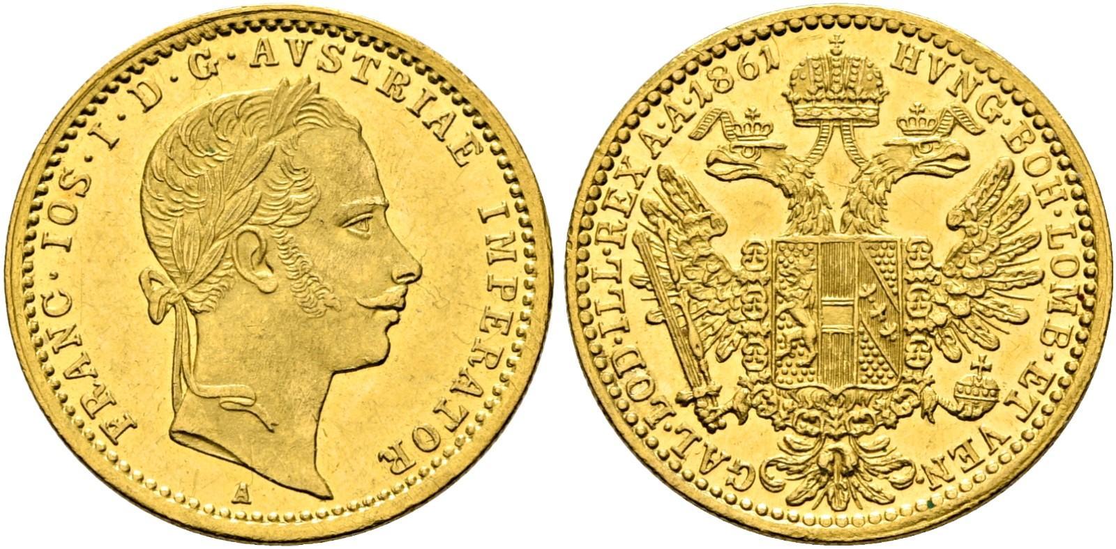 AT 1 Dukat 1861 V