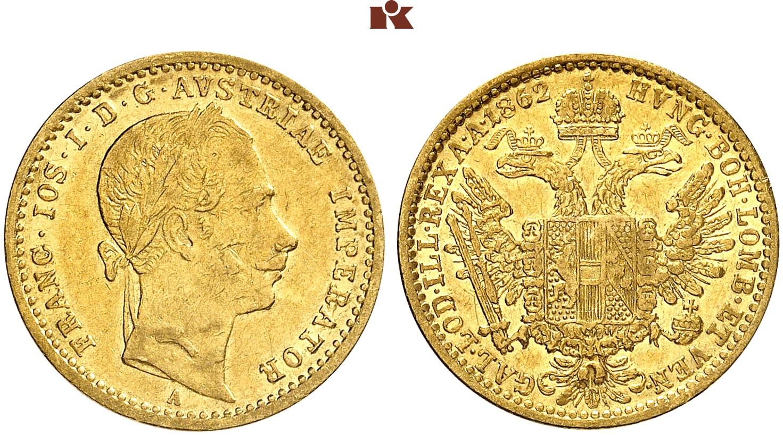 AT 1 Dukat 1862 V