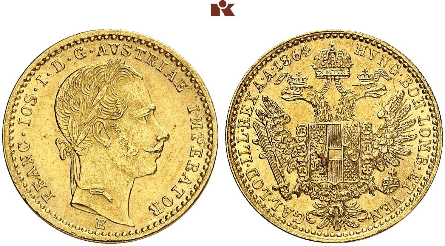 AT 1 Dukat 1864 A