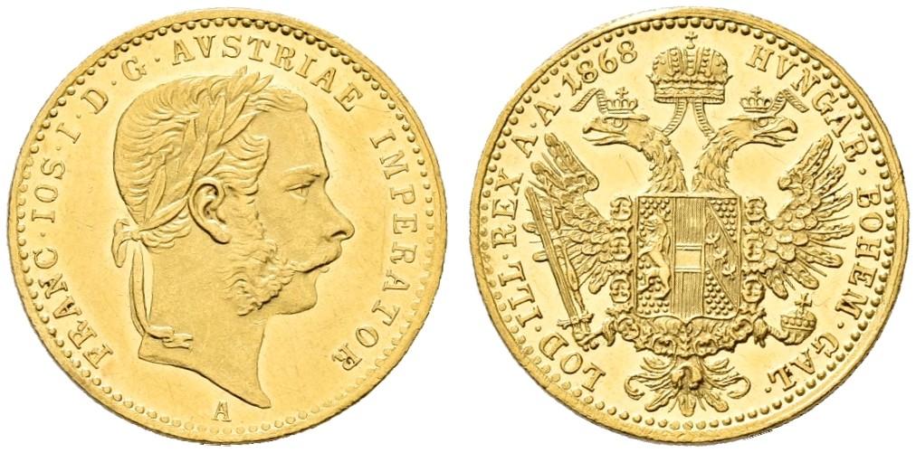 AT 1 Dukat 1868 A