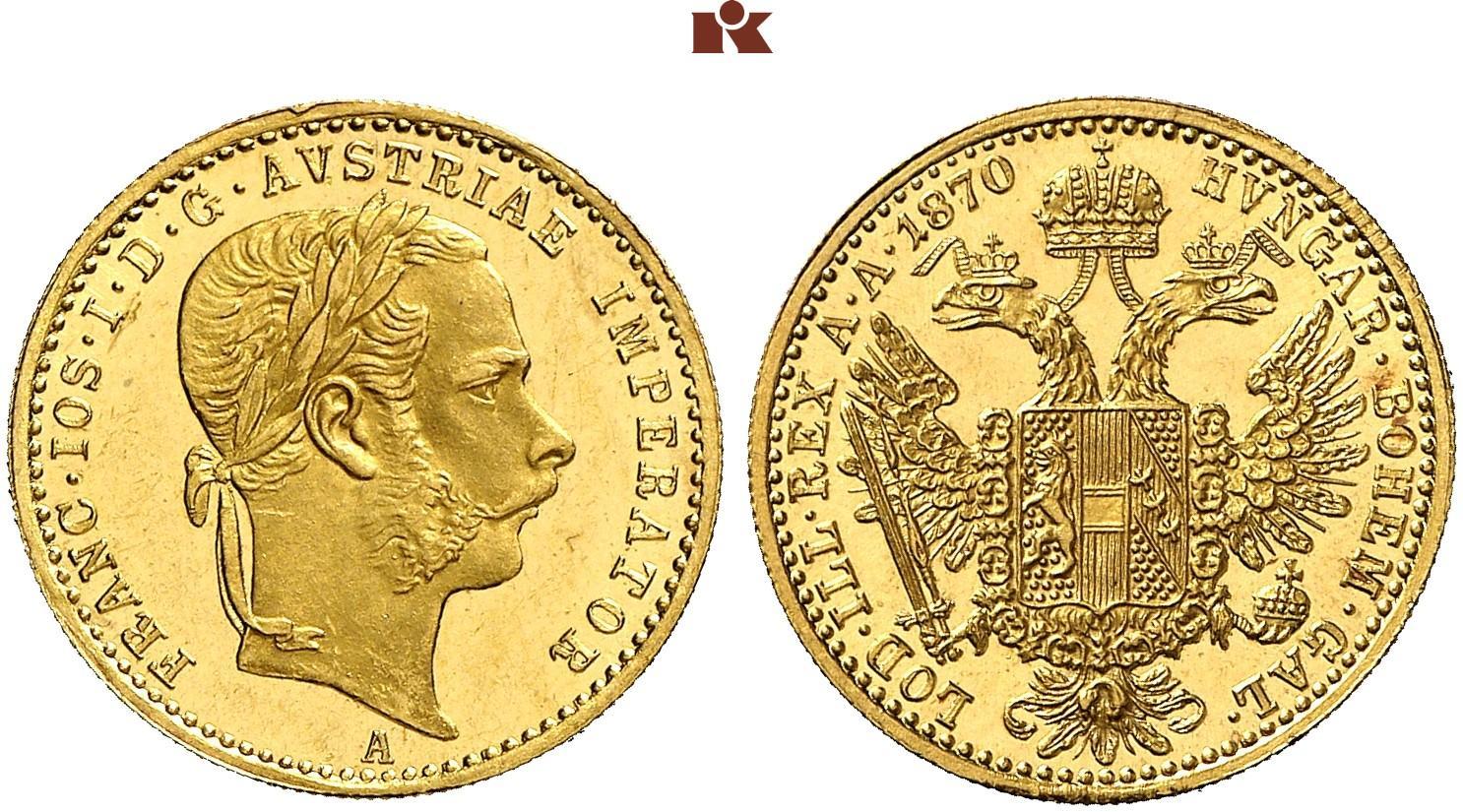 AT 1 Dukat 1870 A