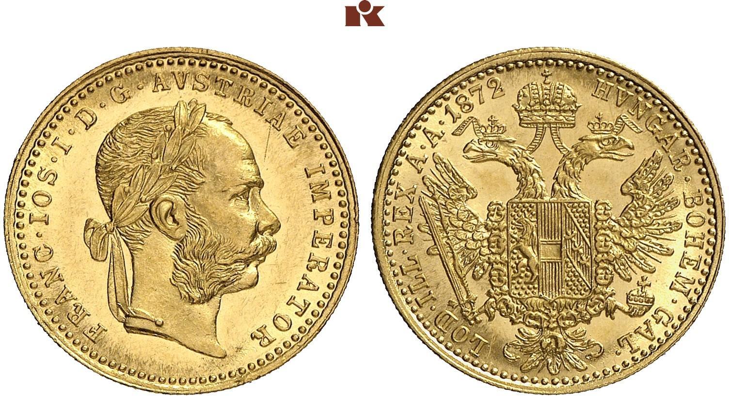 AT 1 Dukat 1872