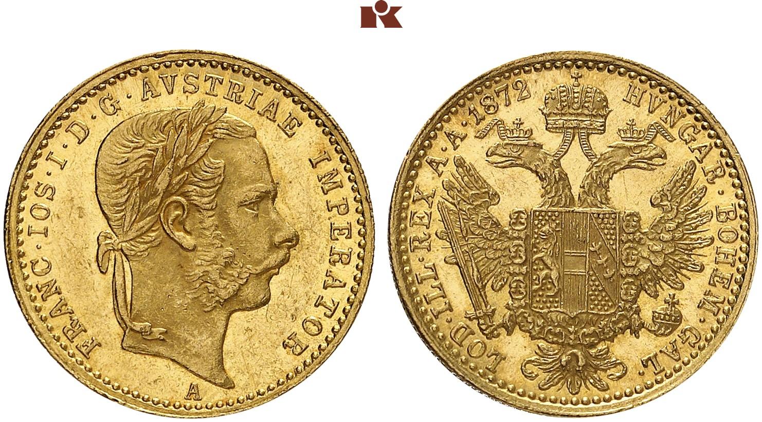 AT 1 Dukat 1872 A