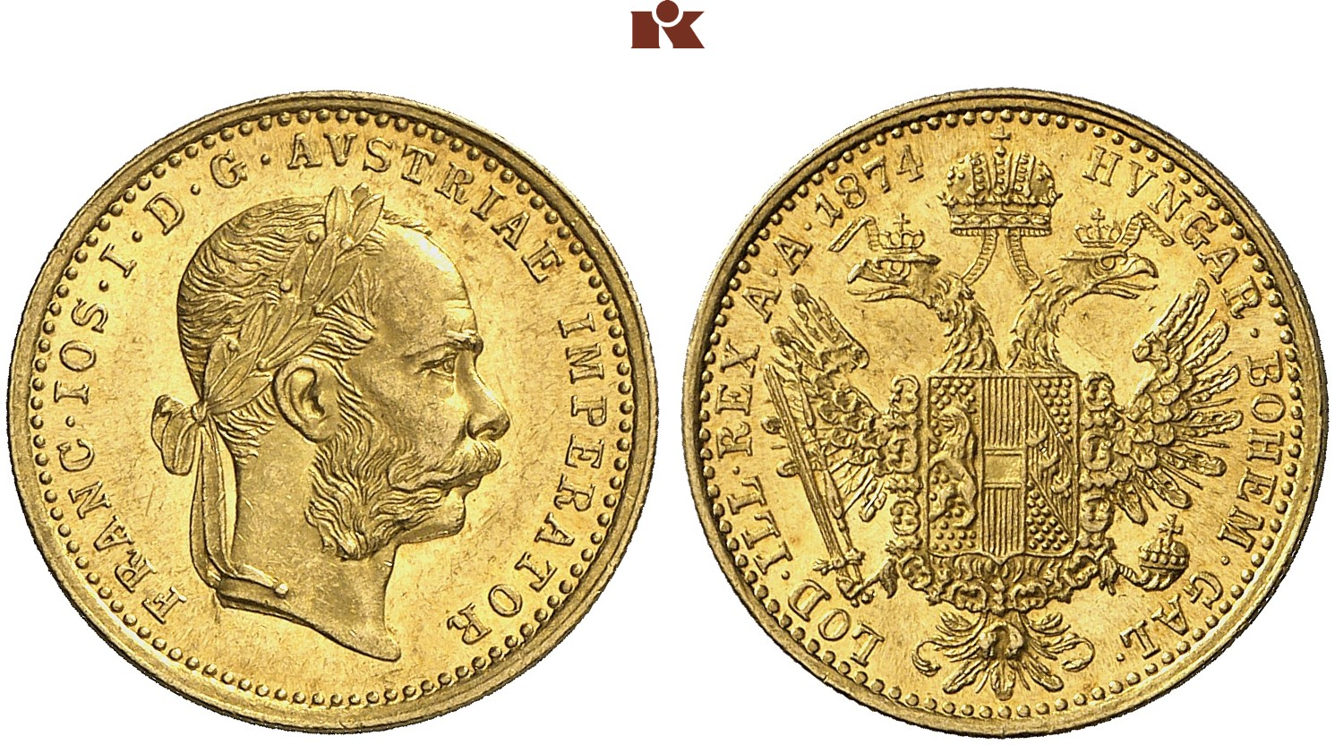 AT 1 Dukat 1874