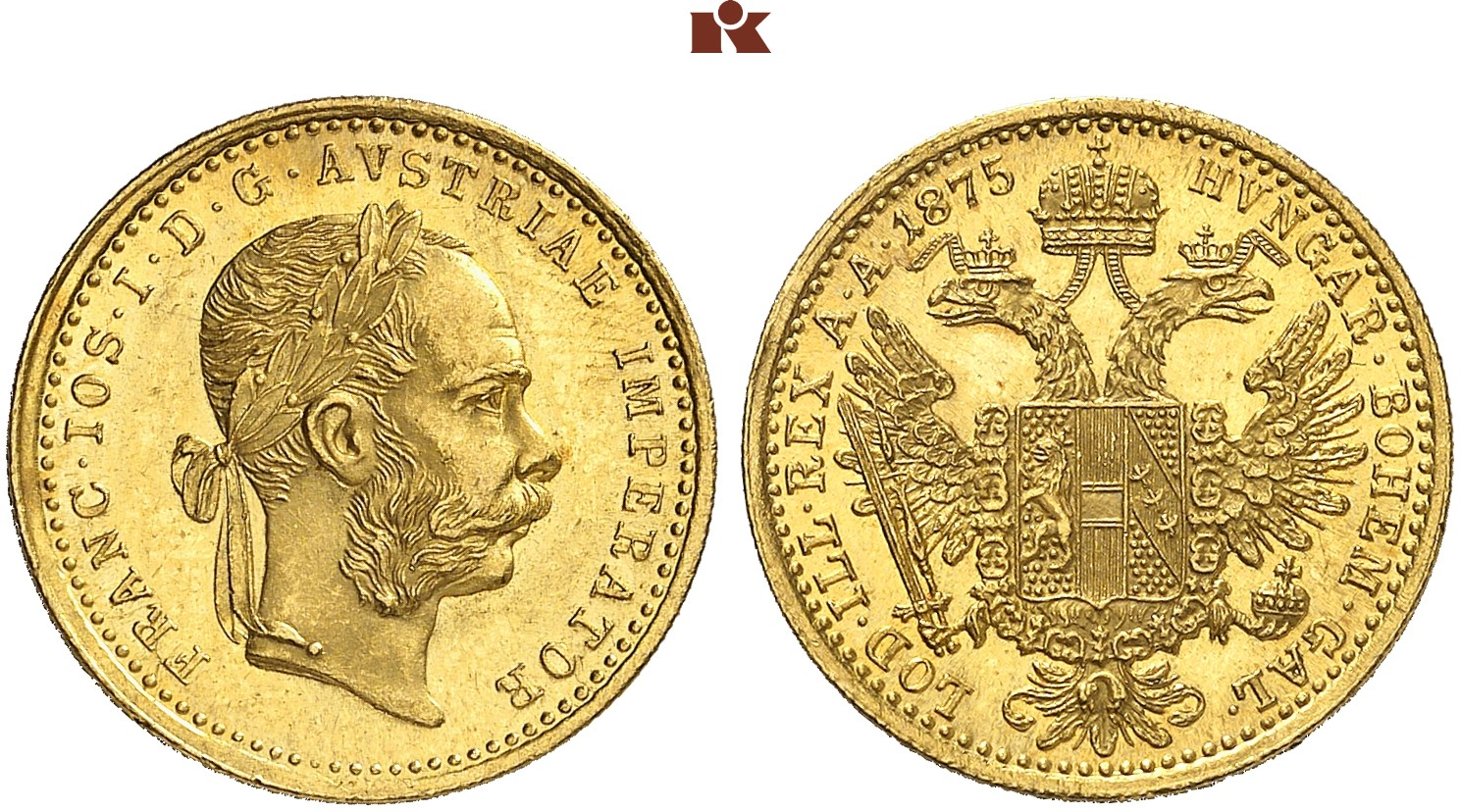 AT 1 Dukat 1875
