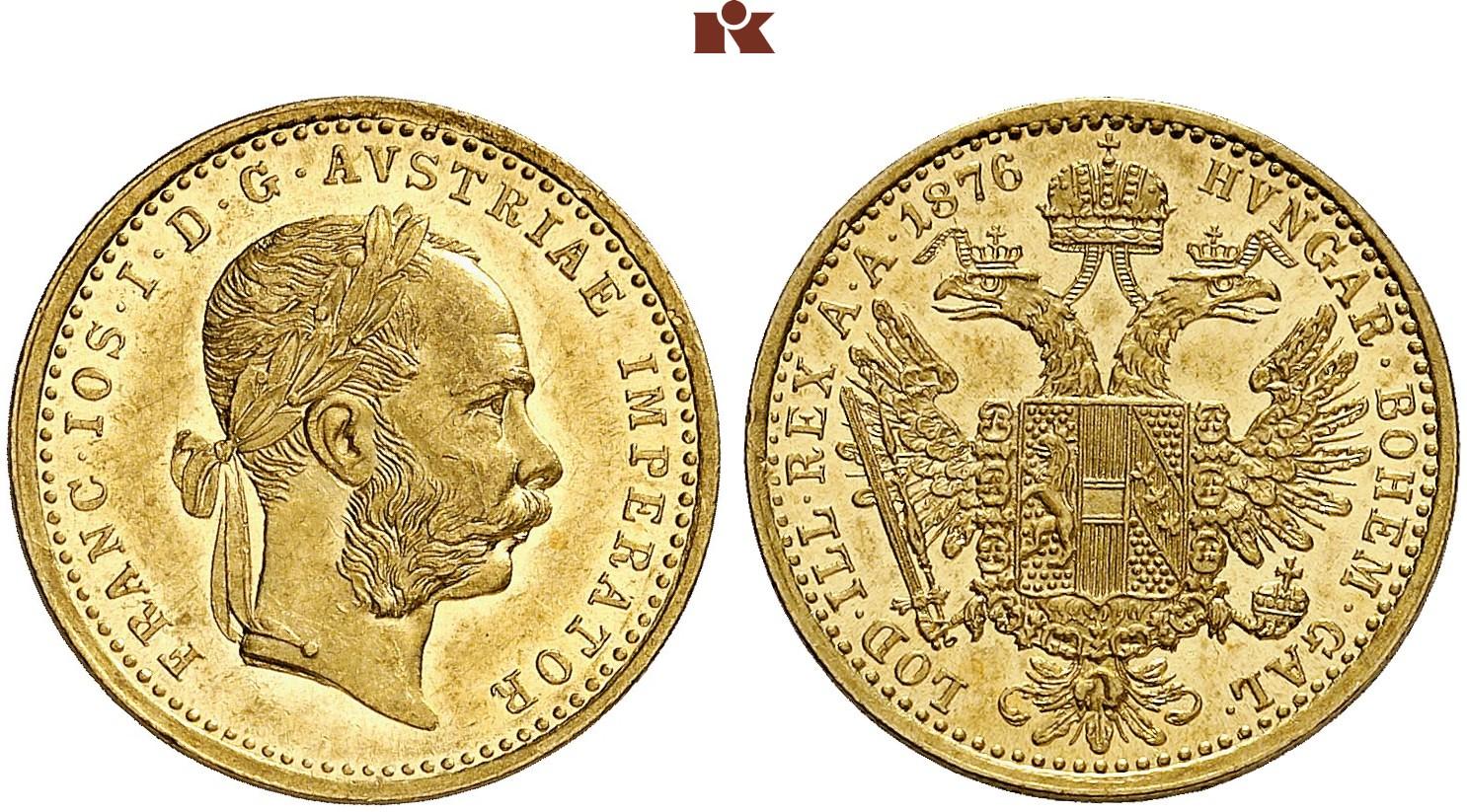 AT 1 Dukat 1876