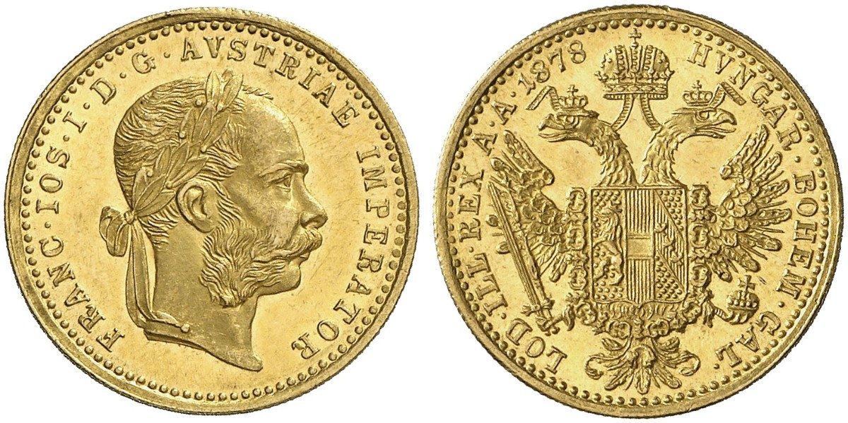 AT 1 Dukat 1878