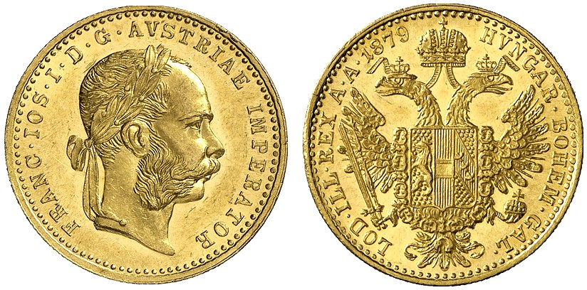 AT 1 Dukat 1879