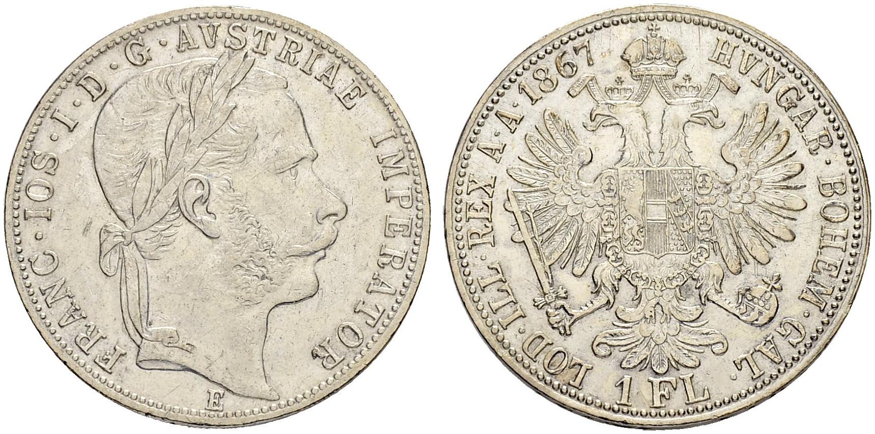 AT 1 Gulden 1868 A