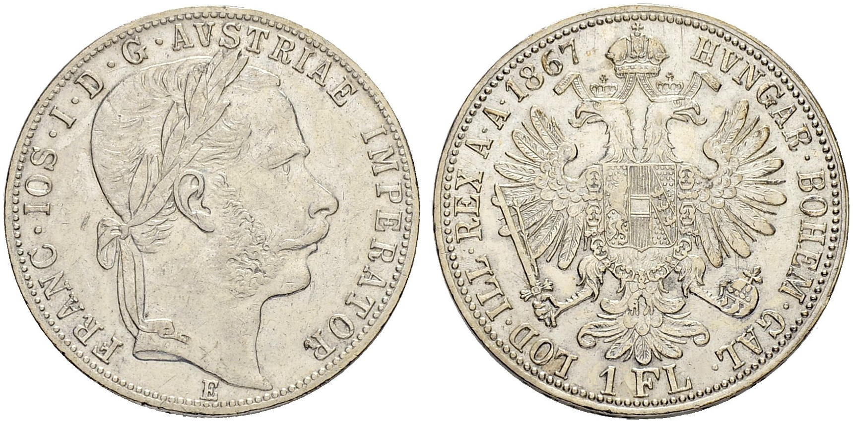 AT 1 Gulden 1870 A